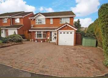 Thumbnail 4 bed detached house for sale in Foxlydiate Lane, Redditch