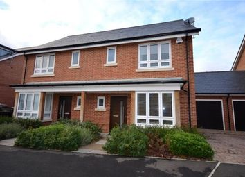 Thumbnail 3 bed semi-detached house for sale in Teaseltun, Fleet, Hampshire