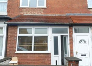 Thumbnail 1 bed terraced house for sale in Percy Road, Birmingham