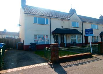 Thumbnail 2 bed semi-detached house to rent in Hopewell Road, Hull