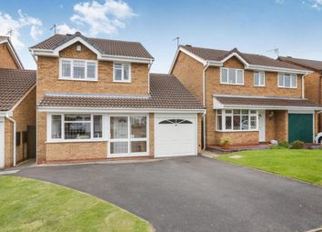 Thumbnail 3 bed detached house for sale in The Wheatlands, Perton, Wolverhampton