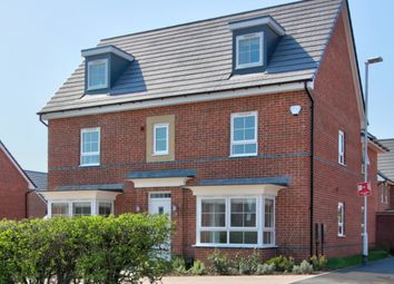 Thumbnail 5 bed detached house for sale in Bullfinch Close, East Leake, Loughborough