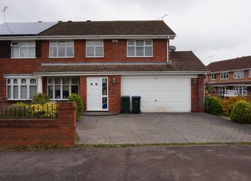 Thumbnail 4 bed semi-detached house for sale in Denshaw Croft, Walsgrave, Coventry