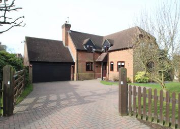 Thumbnail 4 bedroom detached house for sale in Oakdene, Burghfield Common