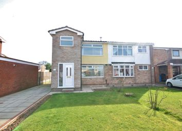 Thumbnail 3 bed semi-detached house for sale in Rostherne Crescent, Widnes