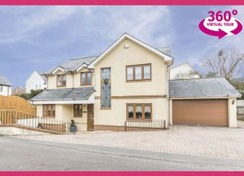 Thumbnail 4 bedroom detached house for sale in Yew Tree Lane, Caerleon, Newport
