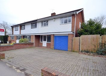 Thumbnail 4 bed semi-detached house for sale in Station Avenue, Walton-On-Thames