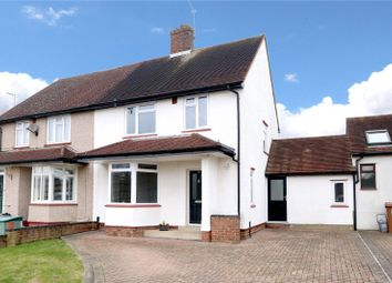 Thumbnail 4 bed semi-detached house for sale in Trowley Rise, Abbots Langley
