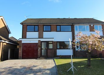 Thumbnail 4 bed semi-detached house for sale in Haslam Hey Close, Bury