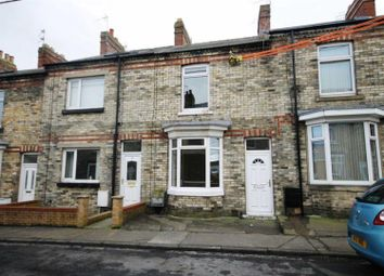 Thumbnail 2 bedroom terraced house for sale in Percy Street, Crook