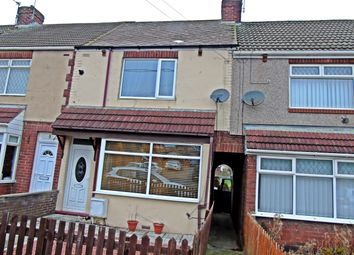 Thumbnail 2 bedroom terraced house for sale in Dene Road, Blackhall Colliery, Hartlepool