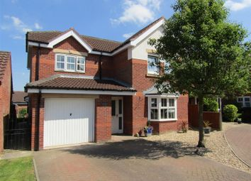Thumbnail 4 bed detached house for sale in Maple Court, Gainsborough