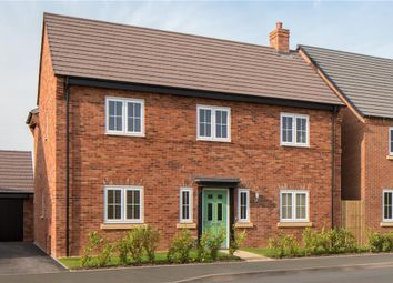 "Thumbnail 4 bed detached house for sale in ""Cropthorne"" at Burton Road, Streethay, Lichfield"