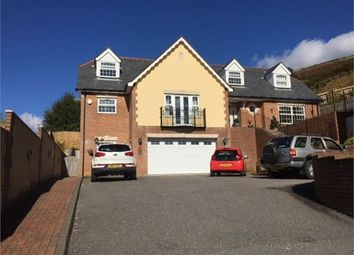 Thumbnail 4 bed detached house for sale in Tyntyla Park, Tonypandy, Tonypandy, Mid Glamorgan.