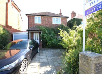Thumbnail 3 bed detached house to rent in Loop Road, Woking