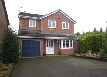 Thumbnail 4 bed detached house for sale in Barbridge Road, Waterhayes, Newcastle-Under-Lyme