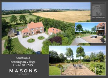 Thumbnail 4 bed detached house for sale in Southwold, Keddington, Louth