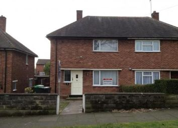 Thumbnail 2 bed semi-detached house to rent in Greenfield Road, Great Barr, Birmingham