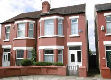 Thumbnail 3 bed semi-detached house for sale in Valkyrie Road, Wallasey, Wirral
