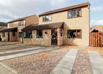 Thumbnail 3 bed detached house for sale in Ferryview, Orton Wistow, Peterborough