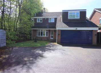 Thumbnail 4 bed detached house for sale in Wensley Drive, Fleet