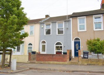 Thumbnail 3 bed terraced house to rent in Wellington Street, Gravesend