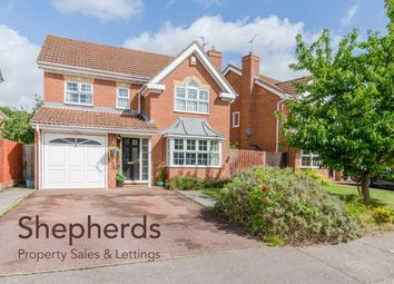 Thumbnail 4 bed detached house for sale in Jasmine Drive, Hertford, Hertfordshire