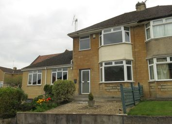 Thumbnail 3 bed semi-detached house to rent in Ivy Avenue, Bath