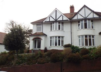 Thumbnail 3 bed semi-detached house for sale in Grange Road, West Cross, Swansea