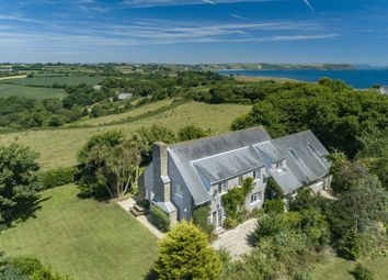 Thumbnail 6 bedroom detached house for sale in Churchtown Road, Gerrans, Portscatho, Truro