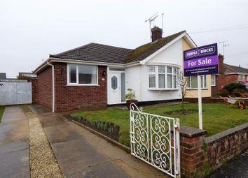 Thumbnail 2 bed semi-detached bungalow for sale in Gresham Close, Lowestoft