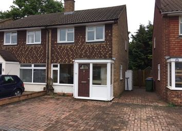 Thumbnail 2 bed semi-detached house for sale in Broad Close, Hersham, Walton-On-Thames, Surrey