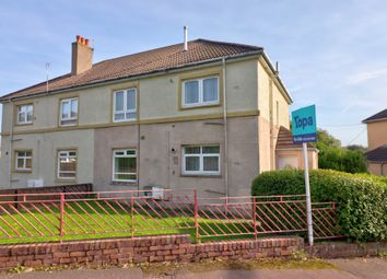 Thumbnail 2 bed flat for sale in Kinnier Road, Saltcoats