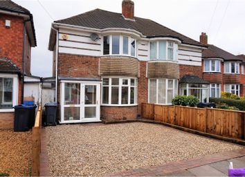 Thumbnail 2 bedroom semi-detached house for sale in Woolacombe Lodge Road, Birmingham