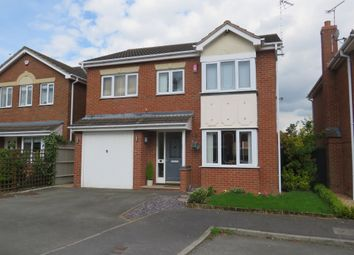 Thumbnail 4 bed detached house for sale in Plover Court, Mickleover, Derby
