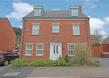 Thumbnail 5 bedroom detached house for sale in Burdock Way, Desborough, Kettering