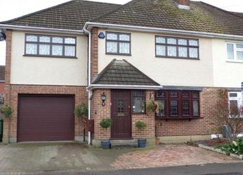 Thumbnail 4 bed semi-detached house for sale in Hutton, Brentwood, Essex