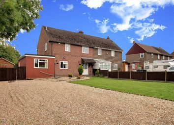 Thumbnail 3 bed semi-detached house for sale in Moor Lane, Branston Booths, Lincoln