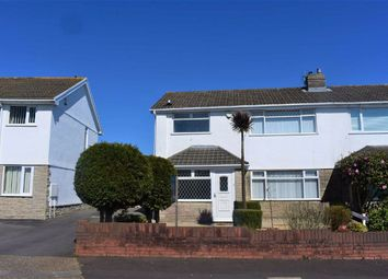 Thumbnail 3 bedroom semi-detached house for sale in Lambourne Drive, Newton, Swansea