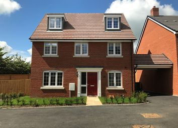 Thumbnail 5 bedroom detached house for sale in Copia Crescent, Roman Gate, Leighton Buzzard