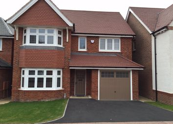 Thumbnail 4 bed detached house to rent in Hadstock Close, Humberstone, Leicester
