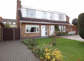 Thumbnail 3 bedroom semi-detached house for sale in Wood Street, Codnor, Ripley