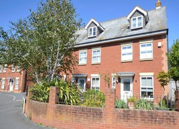 Thumbnail 3 bed terraced house for sale in Norman Crescent, Budleigh Salterton, Devon