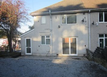 Thumbnail 3 bed end terrace house to rent in Carmarthen Road, Cwmbwrla, Swansea. 8Nj.