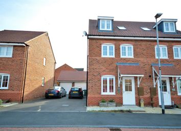 Thumbnail 4 bed semi-detached house for sale in Keel Close, Wigston