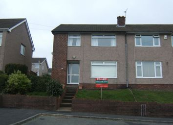 Thumbnail 3 bed property to rent in Woodland Drive, Bassaleg, Newport