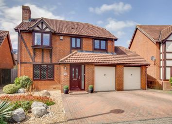 Thumbnail 4 bed detached house for sale in Harlequin Place, Shenley Brook End, Milton Keynes