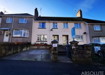 Thumbnail 3 bed terraced house for sale in Hartop Road, Torquay