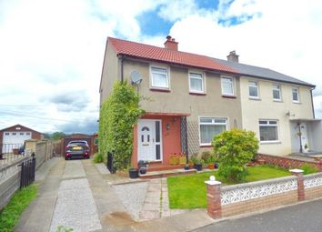 Thumbnail 3 bed semi-detached house for sale in Criffel Road, Dumfries, Dumfries And Galloway