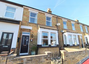 Thumbnail 3 bed terraced house for sale in Marlborough Road, Ashford, Middlesex